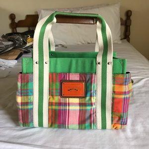 TOmmy Hilfiger Plaid Green Handbag